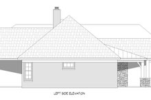 Traditional Exterior - Other Elevation Plan #932-166