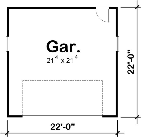 Traditional Floor Plan - Main Floor Plan Plan #20-2375