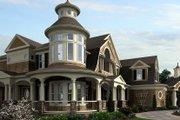 Craftsman Style House Plan - 5 Beds 5 Baths 11000 Sq/Ft Plan #132-565