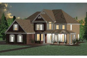 Home Plan - Traditional Exterior - Front Elevation Plan #937-22
