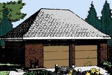 Exterior - Front Elevation Plan #410-3609