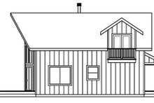House Plan Design - Cabin Exterior - Other Elevation Plan #124-510