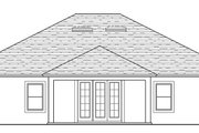 Traditional Style House Plan - 3 Beds 2 Baths 1959 Sq/Ft Plan #1058-119 Exterior - Rear Elevation