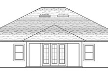Traditional Exterior - Rear Elevation Plan #1058-119