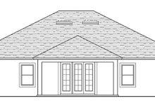 Traditional Exterior - Rear Elevation Plan #1058-119