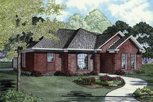 Architectural House Design - Ranch Exterior - Front Elevation Plan #17-3258