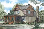 Craftsman Style House Plan - 3 Beds 2 Baths 1705 Sq/Ft Plan #17-3336 Exterior - Front Elevation