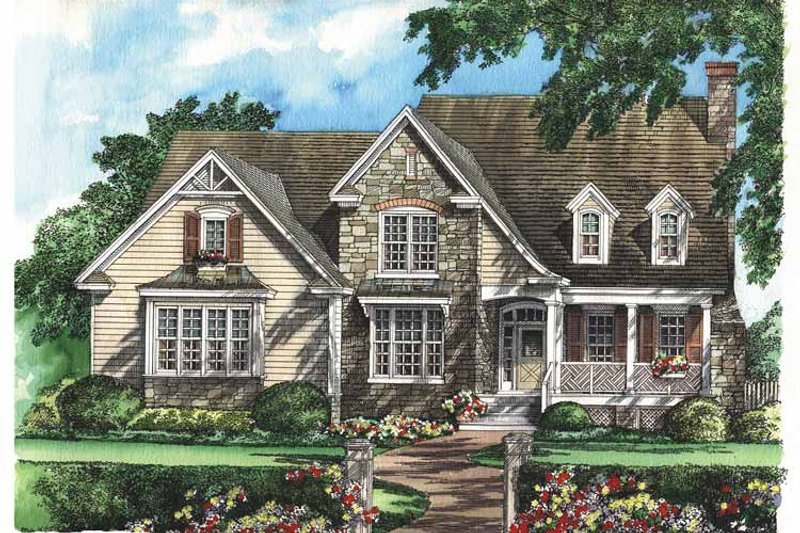 Country Exterior - Front Elevation Plan #929-634 - Houseplans.com
