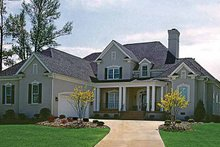 Home Plan - Traditional Exterior - Front Elevation Plan #453-99