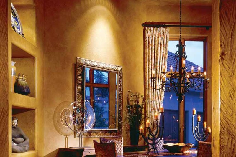 Mediterranean Interior - Dining Room Plan #930-97 - Houseplans.com