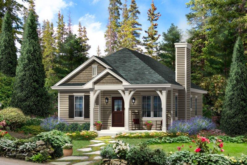 Home Plan - Cottage Exterior - Front Elevation Plan #22-568