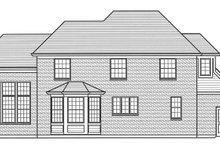 Home Plan - European Exterior - Rear Elevation Plan #46-849