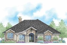 Home Plan - Country Exterior - Front Elevation Plan #938-47