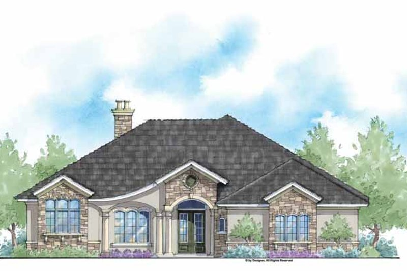 Country Style House Plan - 3 Beds 3 Baths 2780 Sq/Ft Plan #938-47