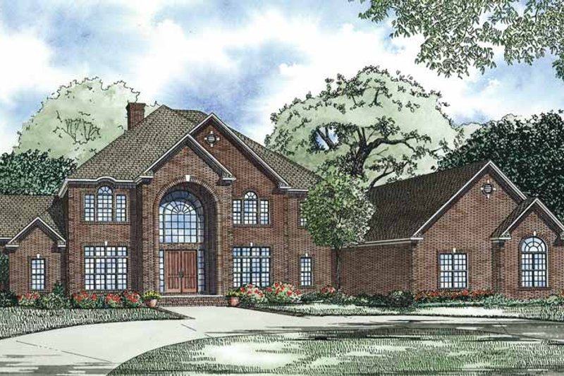 Dream House Plan - Traditional Exterior - Front Elevation Plan #17-3365