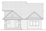 Craftsman Style House Plan - 3 Beds 2.5 Baths 1883 Sq/Ft Plan #453-621 Exterior - Rear Elevation