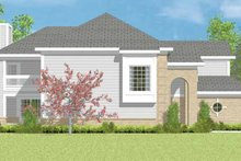 House Blueprint - Traditional Exterior - Other Elevation Plan #72-1084
