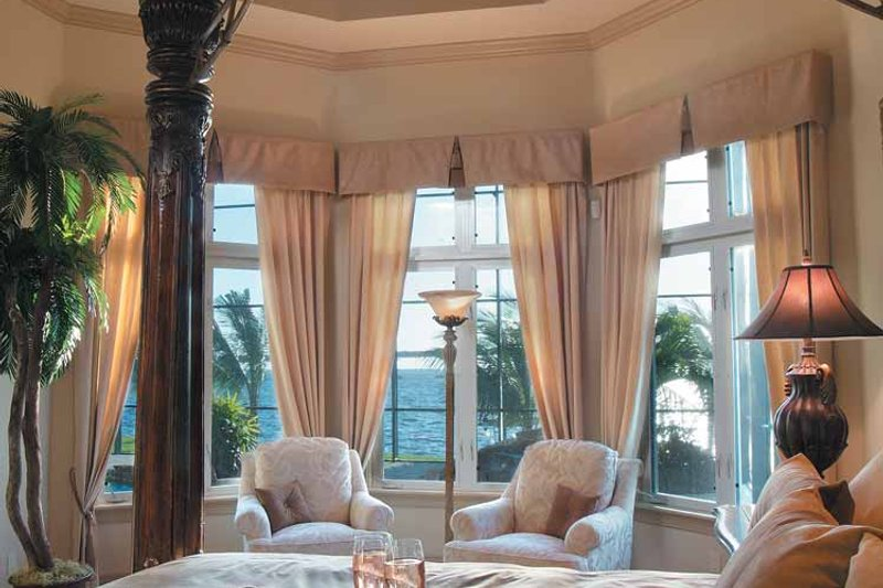 Mediterranean Interior - Master Bedroom Plan #930-317 - Houseplans.com
