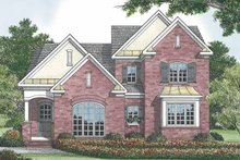 House Plan Design - Traditional Exterior - Rear Elevation Plan #453-524