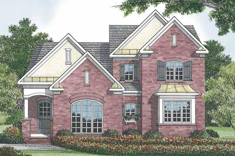 Traditional Exterior - Rear Elevation Plan #453-524 - Houseplans.com