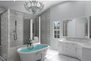 Craftsman Style House Plan - 3 Beds 3.5 Baths 2531 Sq/Ft Plan #119-426 Interior - Master Bathroom