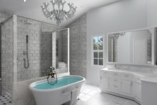 Craftsman Interior - Master Bathroom Plan #119-426