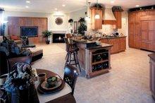 Country Interior - Kitchen Plan #46-687