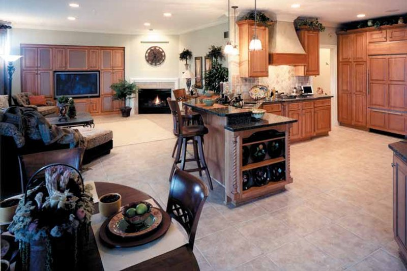 Country Interior - Kitchen Plan #46-687 - Houseplans.com