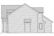 House Plan Design - Right Side Elevation