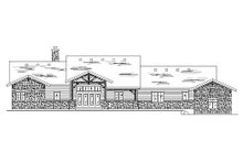 Craftsman Exterior - Rear Elevation Plan #5-277