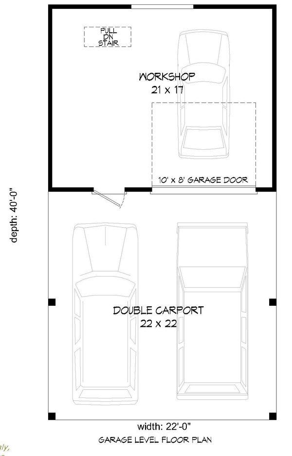 Country Floor Plan - Main Floor Plan Plan #932-115