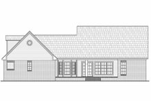 Architectural House Design - Country Exterior - Rear Elevation Plan #21-196