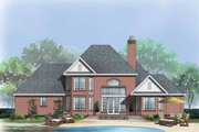 European Style House Plan - 4 Beds 3 Baths 2469 Sq/Ft Plan #929-884 Exterior - Front Elevation