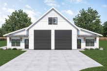House Plan Design - Farmhouse Exterior - Front Elevation Plan #1070-121