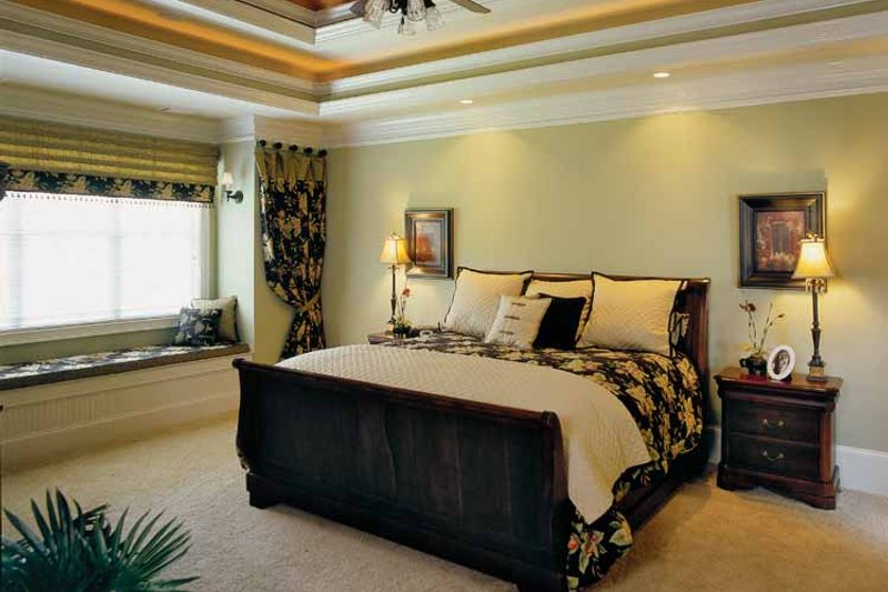 Colonial Interior - Master Bedroom Plan #927-923 - Houseplans.com