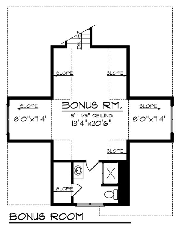 Ranch Floor Plan - Other Floor Plan Plan #70-1137