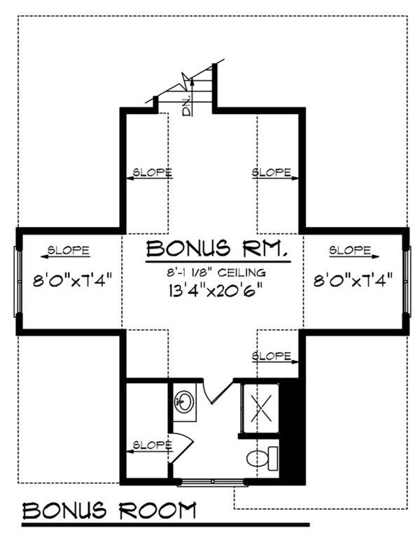 Ranch Floor Plan - Other Floor Plan #70-1137