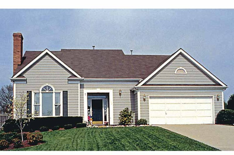 Country Exterior - Front Elevation Plan #453-481 - Houseplans.com
