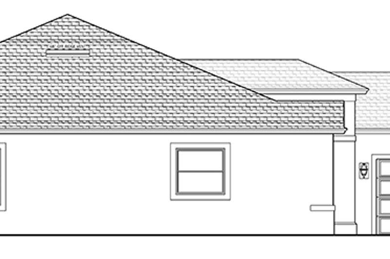 Mediterranean Exterior - Other Elevation Plan #1058-126 - Houseplans.com