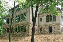 House Design - Tudor Exterior - Rear Elevation Plan #928-61