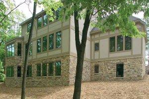 Tudor Exterior - Rear Elevation Plan #928-61