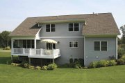 Craftsman Style House Plan - 4 Beds 2.5 Baths 2247 Sq/Ft Plan #928-123 Exterior - Rear Elevation