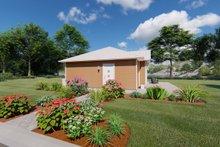 House Plan Design - Cottage Exterior - Other Elevation Plan #126-222