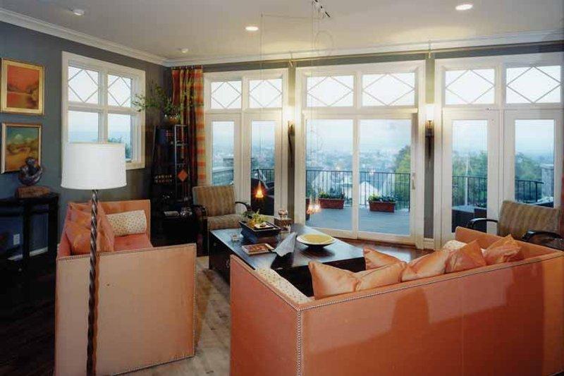 Contemporary Interior - Family Room Plan #46-538 - Houseplans.com