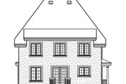 Cottage Style House Plan - 4 Beds 2.5 Baths 1910 Sq/Ft Plan #23-295 Exterior - Rear Elevation