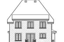 Cottage Exterior - Rear Elevation Plan #23-295