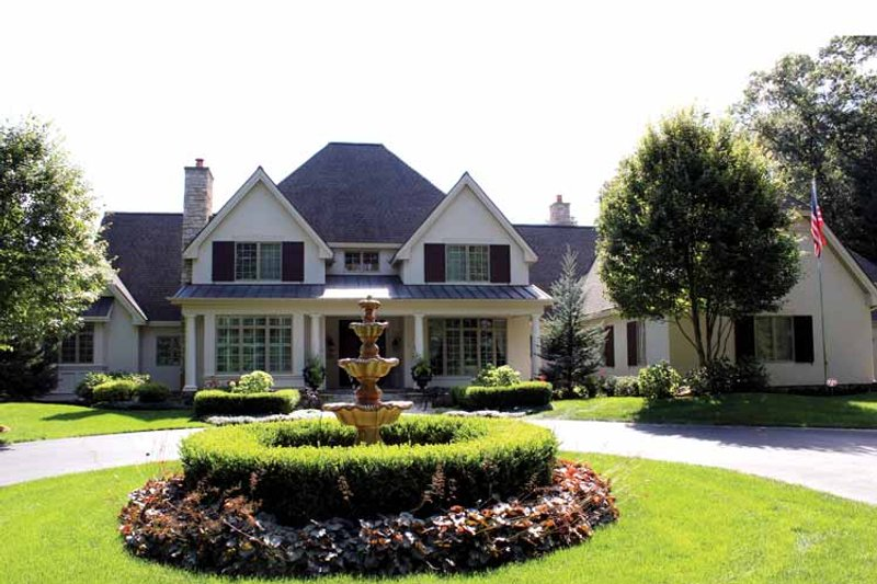 Home Plan - European Exterior - Front Elevation Plan #928-65