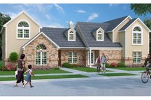 Dream House Plan - Traditional Exterior - Front Elevation Plan #45-411