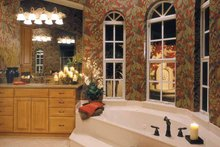 House Plan Design - Mediterranean Interior - Bathroom Plan #930-321