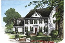 Architectural House Design - Classical Exterior - Front Elevation Plan #137-314